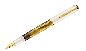 Pelikan Tradition M200 Gold Marble